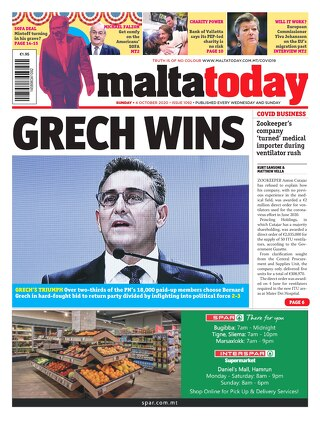 MALTATODAY 4 October 2020