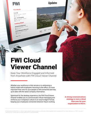 Learn About the FWI Viewer Channel