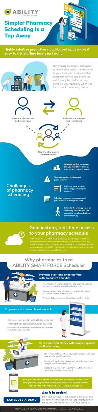 Simpler Pharmacy Scheduling Is a Tap Away