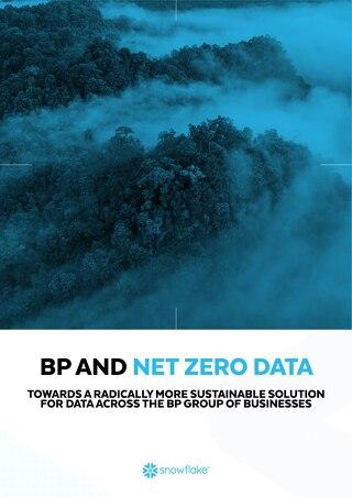 BP AND NET ZERO DATA