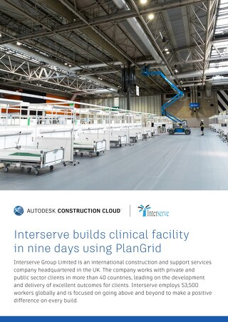 Interserve builds clinical facility in nine days