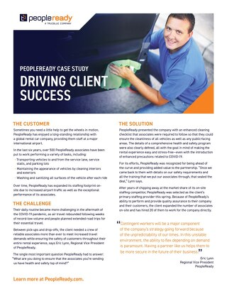 Driving Client Success