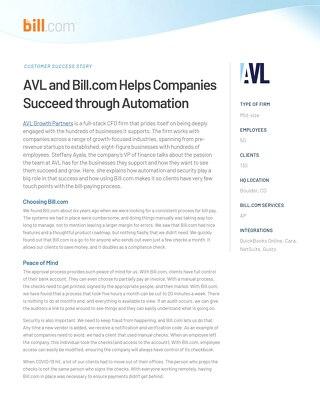 Case Study: AVL