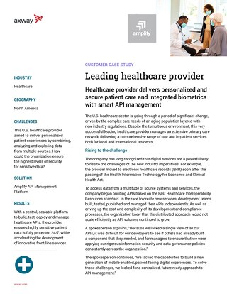 Leading healthcare provider