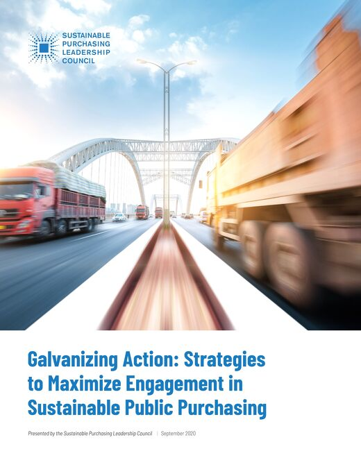 Galvanizing Action: Strategies to Maximize Engagement in Sustainable Public Purchasing