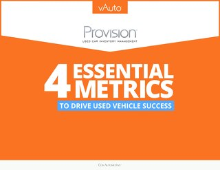 eBook: 4 Metrics to Drive Used Vehicle Success