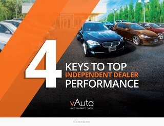 eBook: 4 Keys to top Independent Dealer Performance