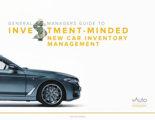 Investment-minded New Car Inventory Management
