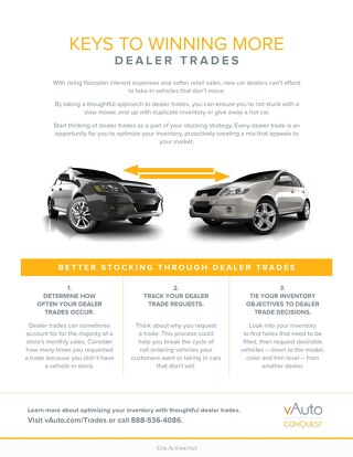 Keys to Winning More Dealer Trades