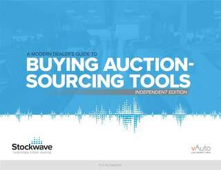 eBook: Independent Dealers Guide to Auction-sourcing Tools
