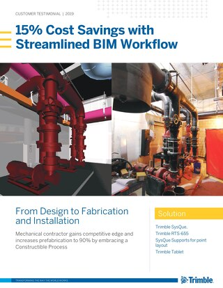 15% Cost Savings with Streamlined BIM Workflow