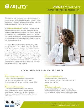 ABILITY Virtual Care