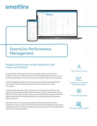 SmartLinx  Performance Management