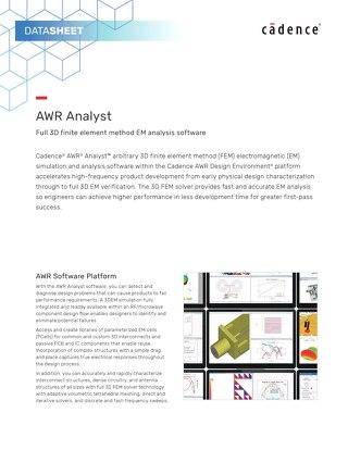 AWR Analyst
