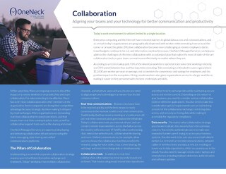 Collaboration Managed Services