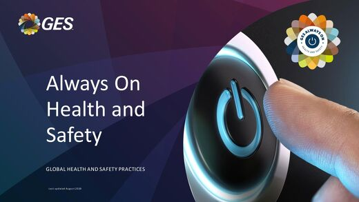 GES Events - Always On Health and Safety