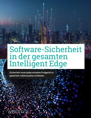 Software-Sicherheit in der gesamten Intelligent Edge