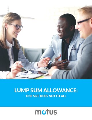 Lump Sum Allowances - One Size Does Not Fit All