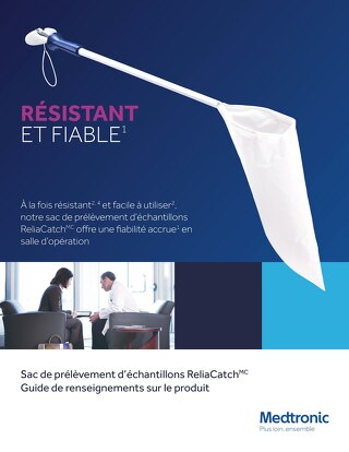Guide de renseignements - Sac de prélèvement d'échantillons ReliaCatch