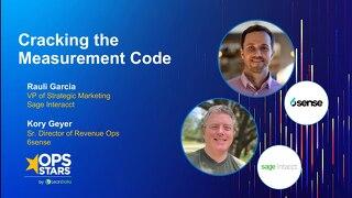Cracking the Marketing Measurement Code - OpStars 2020 Slide Deck