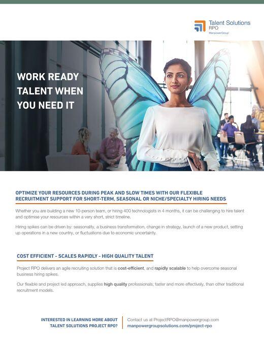 Talent Solutions RPO Work Ready Talent