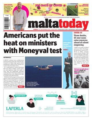 MALTATODAY 20 September 2020