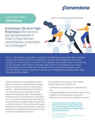 Leadership Förderung: Wie können Sie Spitzentalente in Ihrem Unternehmen identifizieren, entwickeln und für interne Mobilität sorgen?