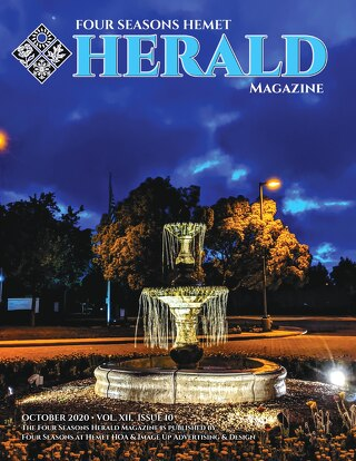 Four Seasons Hemet Herald October 2020