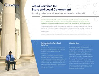 Cloud for State and Local Government