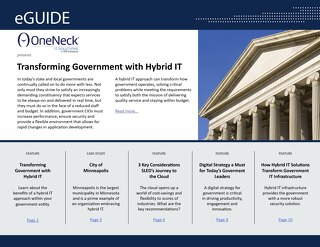 Transforming Government with Hybrid IT
