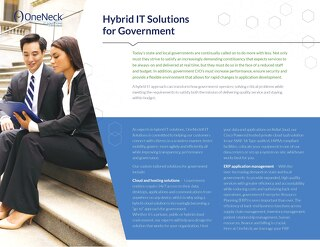 Hybrid IT Solutions or Government