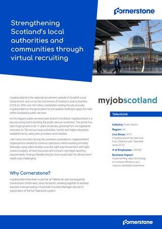 Case Study Myjobscotland