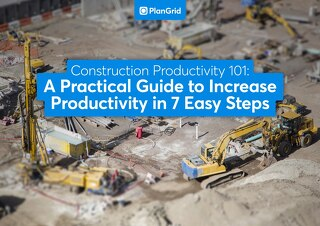 Construction Productivity 101 - International