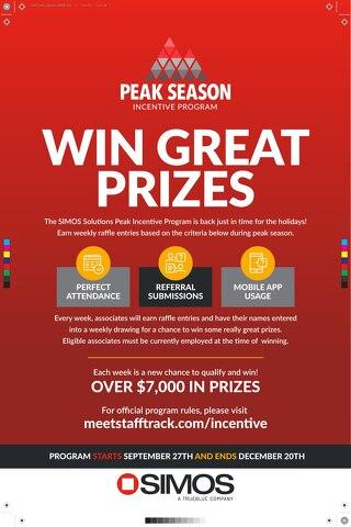 Peak Incentive Program Overview Poster