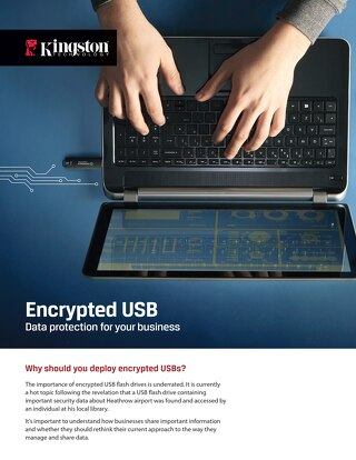 Kingston Encrypted USB