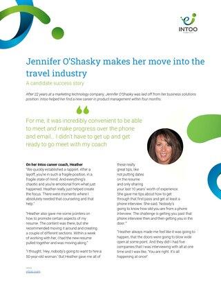 Intoo Candidate Success Story - Jennifer O'Shasky