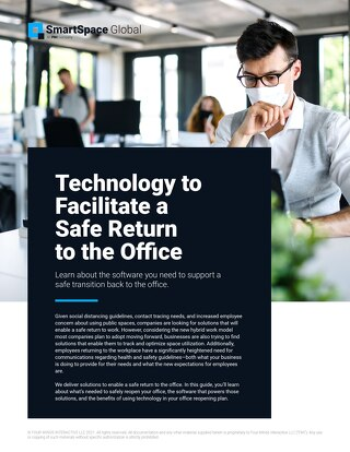 Guide: Facilitating a Safe Return to the Office
