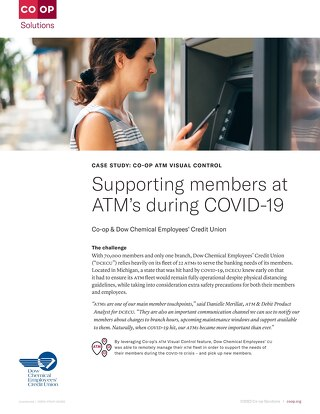 Supporting Members During COVID-19: How DCECU Leveraged CO-OP ATM Visual Control