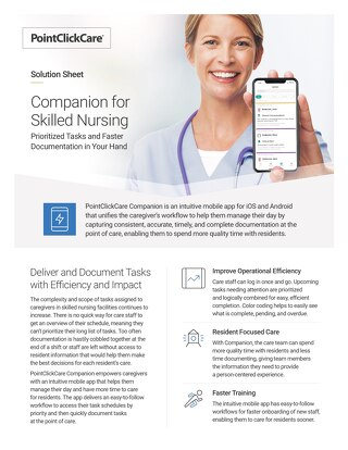 Solution Sheet: Companion for Skilled Nursing