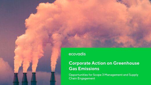 Action des entreprises pour lutter contre les émissions de gaz à effet de serre