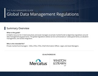 Global Data Management Regulations - Sept 28 2020