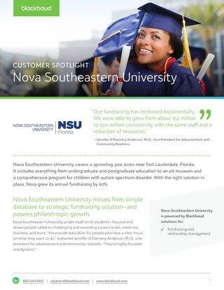 Success Story: Nova Southeastern University