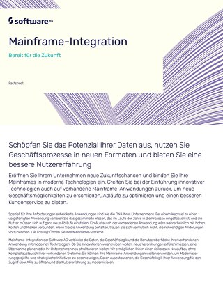 Mainframe-Integration