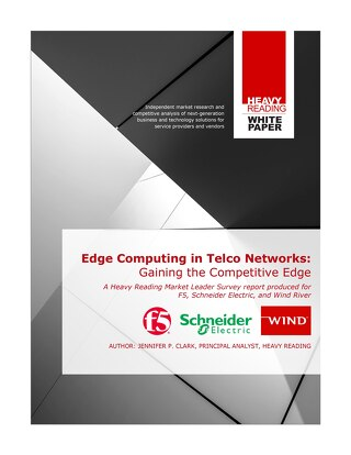 Edge Computing in Telco Networks; a Heavy Reading Survey Report