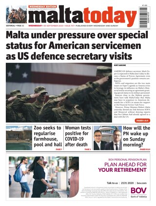 MaltaToday 30 September 2020 MIDWEEK