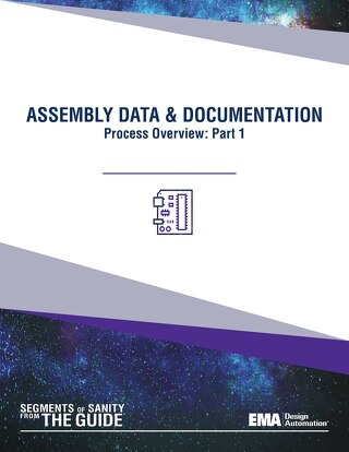 Assembly Data and Documentation: Process Overview, Part 1