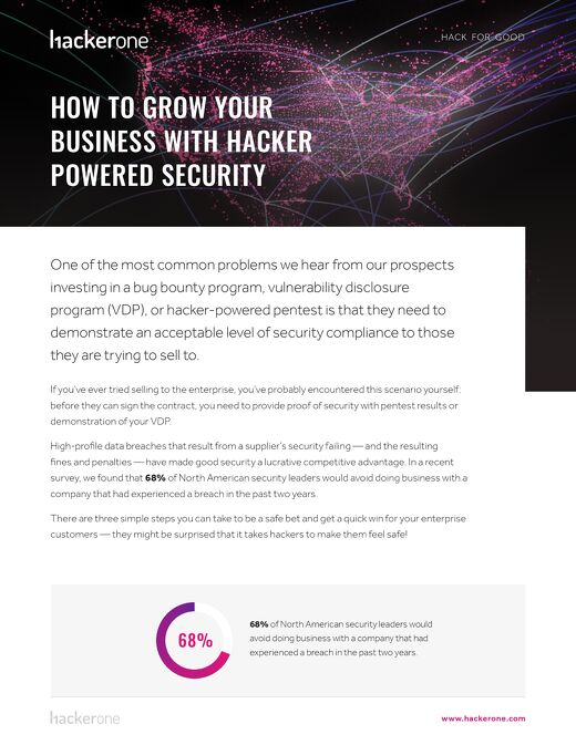 How To Grow Your Business With Hacker Powered Security - NA