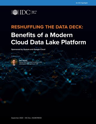 Benefits of Modern Cloud Data Lake Platform Qubole GCP