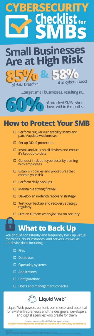 10-Step Cybersecurity Infrastructure Checklist for SMBs