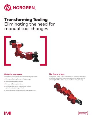 Transforming Tooling: Eliminating the Need for Manual Tool Changes